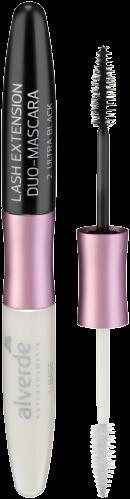 Alverde Lash Extension Duo Mascara (01 Ultra Black & Base)