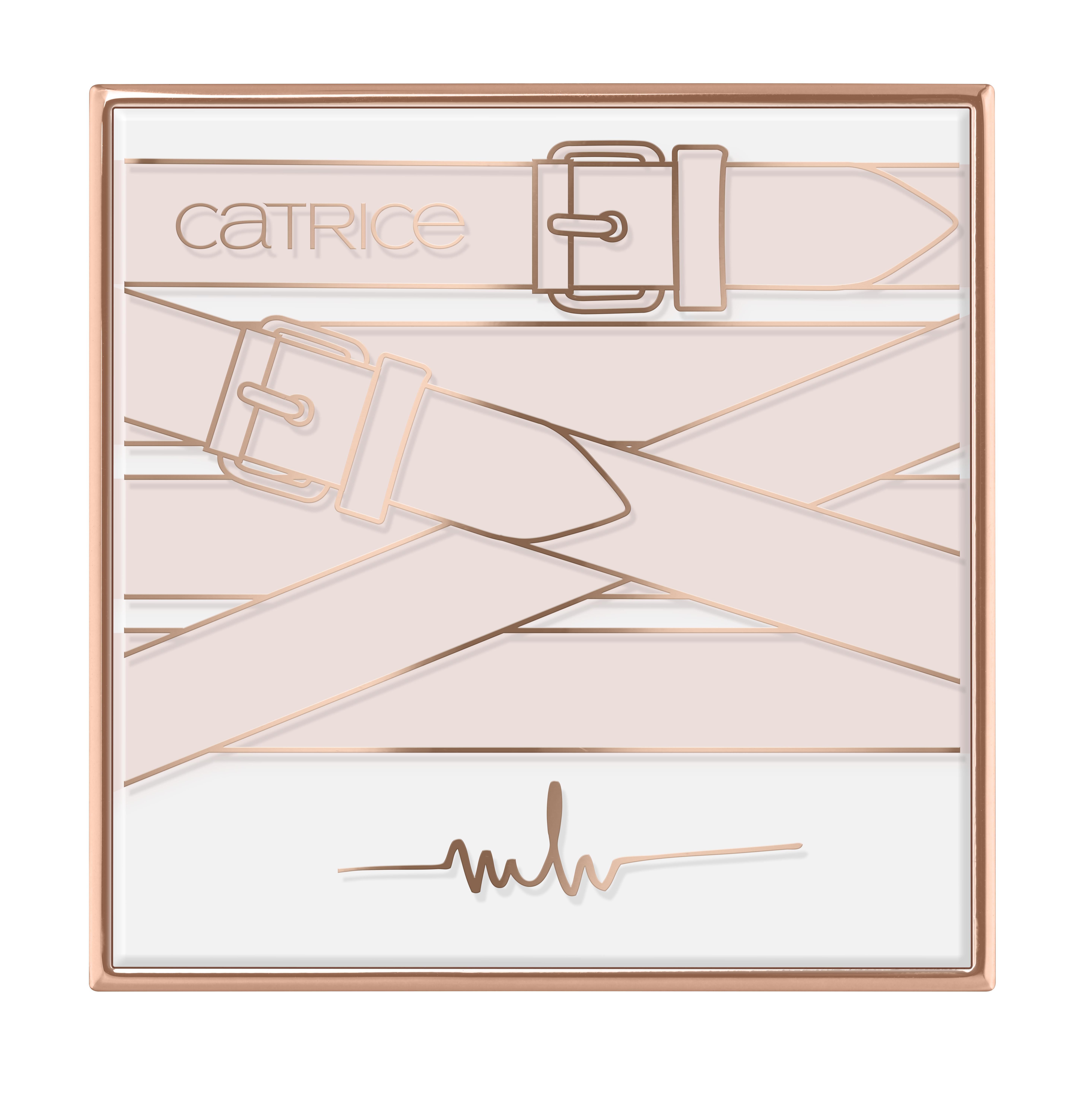 Catrice Marina Hoermanseder Eye Shadow Palette zugeklappt