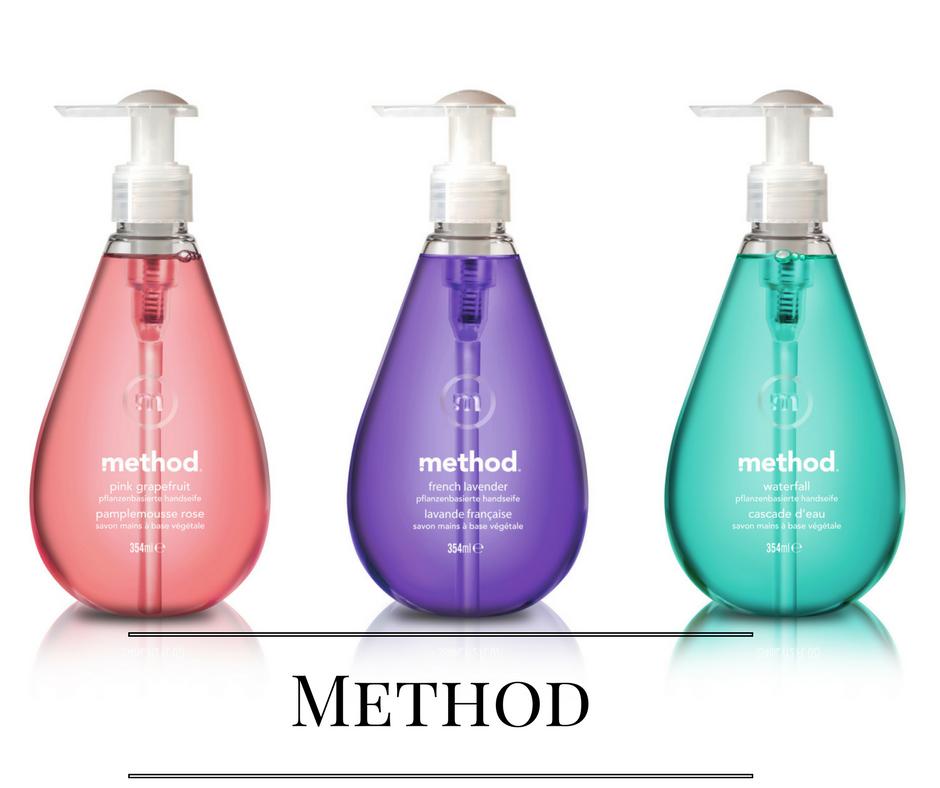 Method von links nach rechts  Pink,Lila,Blau