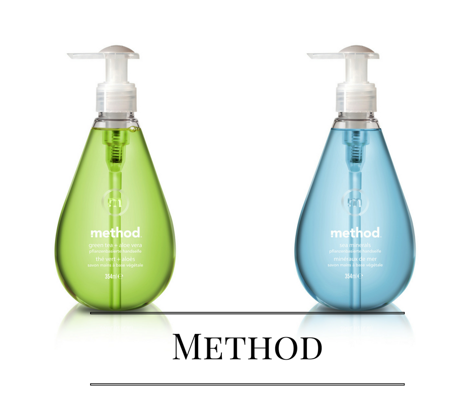 Method von links nach rechts Grün & hellblau