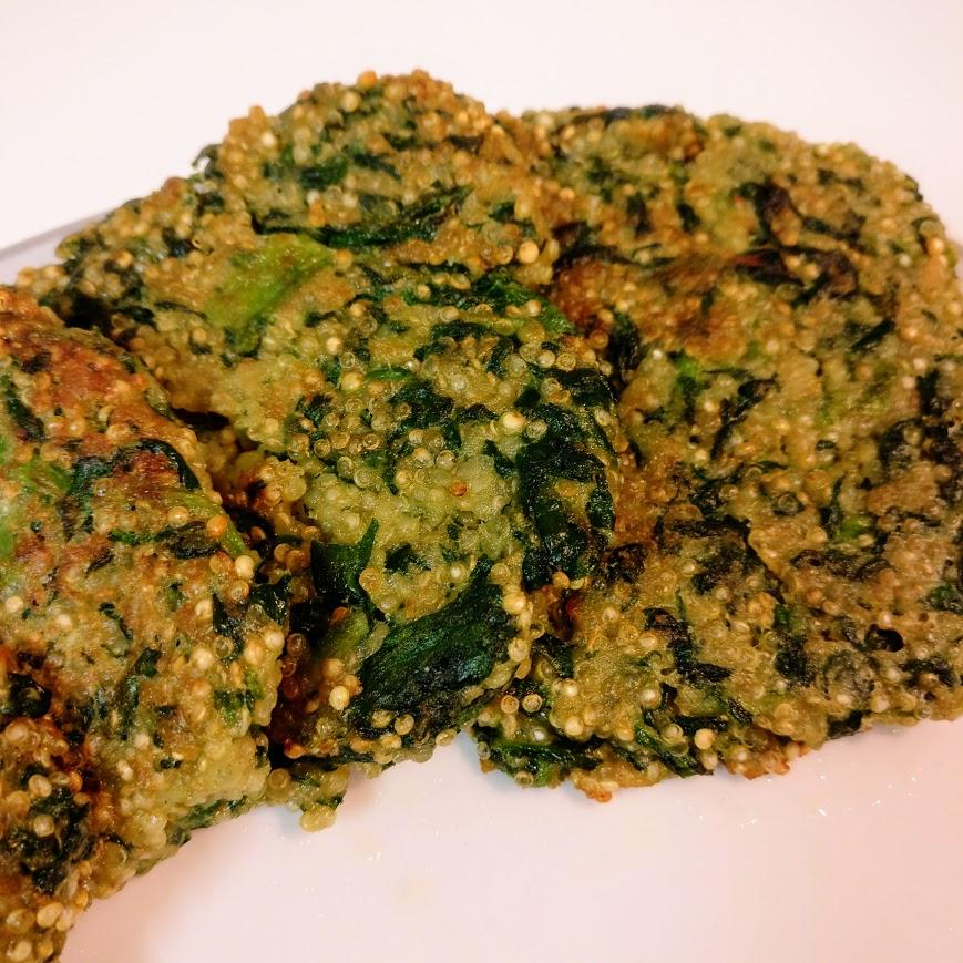 Rezept Quinoa Spinat-Bratlinge-vegetarisch -einfach gut