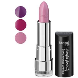Shine Intense Lipstick Von unten nach oben: 010, 020 und 030.