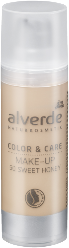 alverde Color & Care Make-up (50 sweet honey)