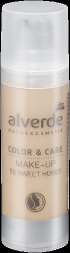 alverde Color & Care Make-up (50 sweet honey)