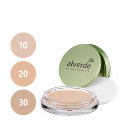 alverde Cream to Powder Compact Foundation (10 rosy ivory, 20 velvet beige, 30 caramel beige)