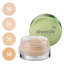 alverde Gel Make-up (10 soft honey, 20 light beige, 30 melted caramel, 40 creamy toffee)