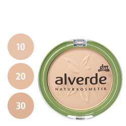 alverde Powder Foundation (10 soft ivory, 20 velvet sand, 30 bronzed beige)