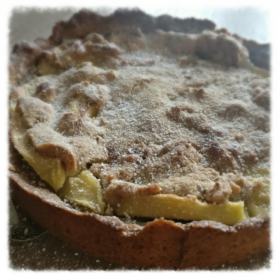 Apfel-Nuss-Torte