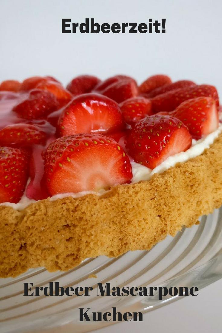 Rezept Erdbeer Mascarpone Kuchen Die Erdbeerzeit Startet