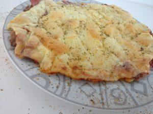 Fleischfresser-Pizza fertig