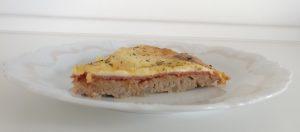 Fleischfresser-Pizza Stück