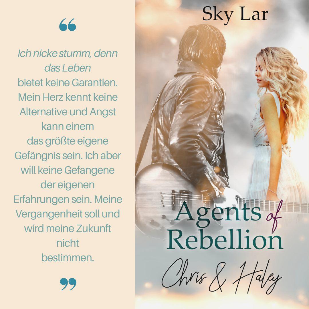 Agents of Rebellion - Chris und Haley von Sky Lar